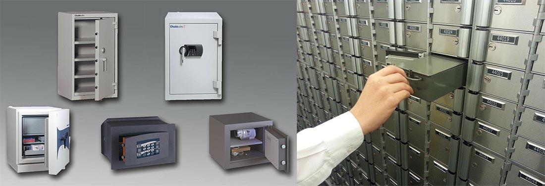 Cajas fuertes vs cajas de seguridad